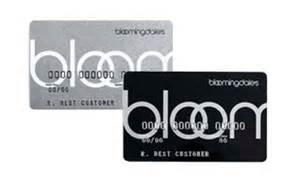 Bloomingdale's Credit Card & Gift Cards
