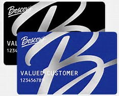 Boscov's Credit Card & Gift Cards