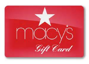 Macy's Credit Card & Gift Cards